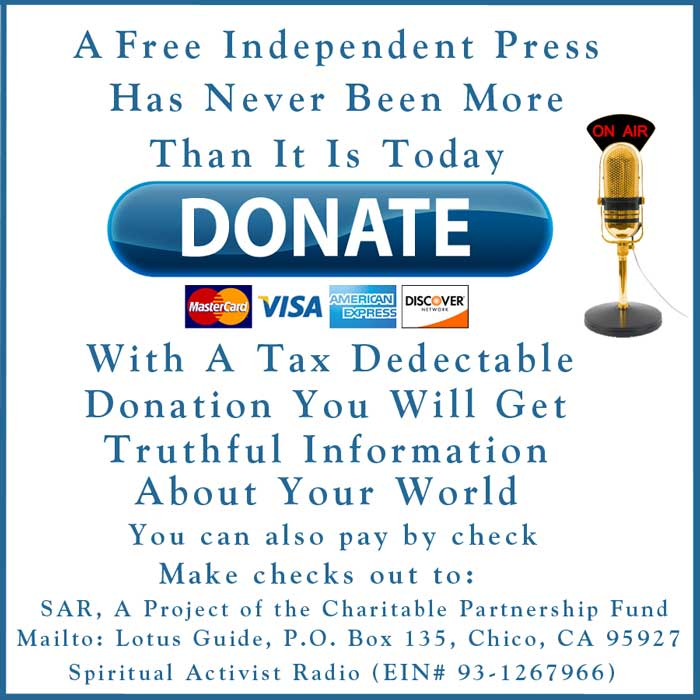 Spiritual Activist Radio Donations