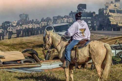 Standing Rock Stand-off
