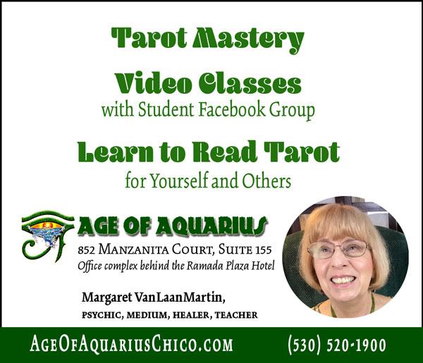 Age of Aquarius with Margaret VanLaan Martin